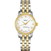 Mido - Baroncelli  S/Steel & Gold PVD Auto Watch Ladies 29mm