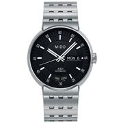 Mido - All Dial Auto. Men's Watch S/Steel w/Black Dial 42mm