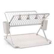 Brabantia - Foldable Dish Drying Rack Large Light Grey