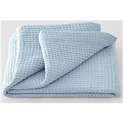 Sheridan - Cotton Waffle Single/Double Blanket Haze