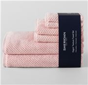Sheridan - Hygro Texture Towel Set Petal 6pce