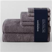 Sheridan - Hygro Texture Towel Set Granite 6pce