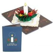 Colorpop - Christmas Candle Pop Up Card  Medium