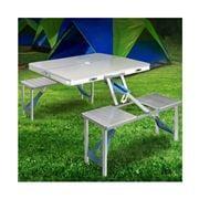 Acampar - Folding Camping Table Set 85cm