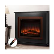 Inverno Heaters - Electric Fireplace Heater 2000W Blk