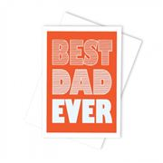 Candle Bark - Best Dad Ever Card