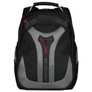 """Wenger - Pegasus 17"""" Laptop Backpack W/Tablet Pocket Grey"""