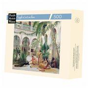 Puzzle Michèle Wilson - La Cour Du Harem Puzzle 500pc