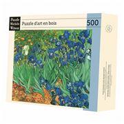 Puzzle Michèle Wilson - Les Iris Puzzle 500pc