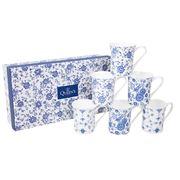 Queens - Blue Story Classic Mug Set 6pce