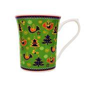 Queens - Christmas Festive Season Mug Green