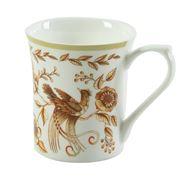 Queens - Peacock Gold Mug