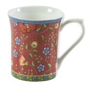 Queens - Trailing Blooms Mug Red