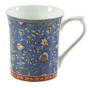 Queens - Trailing Blooms Mug Blue