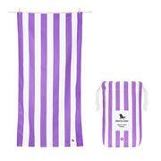 Dock & Bay - Beach Towel Cabana Collection L Brighton Purple