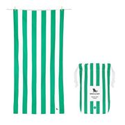 Dock & Bay - Beach Towel Cabana Collection L Cancun Green