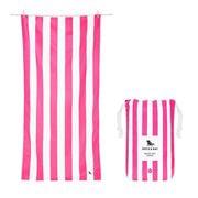 Dock & Bay - Beach Towel Cabana Collection L Phi Phi Pink