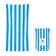 Dock & Bay - Beach Towel Cabana Collection XL Bondi Blue