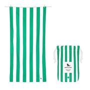 Dock & Bay - Beach Towel Cabana Collection XL Cancun Green