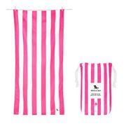 Dock & Bay - Beach Towel Cabana Collection XL Phi Phi Pink