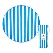 Dock & Bay - Beach Towel Round Collection - Bondi Blue