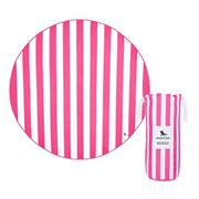 Dock & Bay - Beach Towel Round Collection Phi Phi Pink