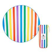 Dock & Bay - Beach Towel Round Collection Rainbow Skies