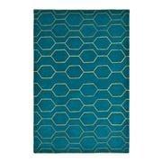 Wedgwood - Arris Teal Wool/Silk Handmade Rug 180x120cm