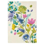 Bluebellgray - Tetbury Meadow Wool Floral Rug 240x170cm