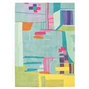 Bluebellgray - Amal Multi-Colour New Wool Rug 200x140cm