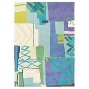 Bluebellgray - Atlas Multi-Colour New Wool Rug 240x170cm