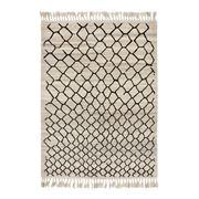 Brink & Campman - Arabiska Black Wool Rug 200x140cm