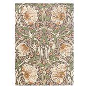 Morris & Co - Pimpernel Aubergine Floral Wool Rug 200x140cm
