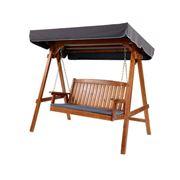 Exterieur Outdoor - Gardeon Wooden Swing Chair 3 Seater