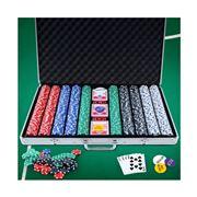 Gameplay  - Poker Chip Set 1000PC Chips TEXAS HOLD'EM