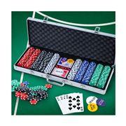 Gameplay  - Poker Chip Set 500PC Chips TEXAS HOLD'EM