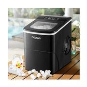 Kuzina Appliances - Portable Ice Cube Maker 2L Black