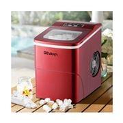 Kuzina Appliances - Portable Ice Cube Maker Machine 2L Red