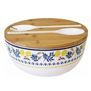 Ladelle - Positano Tile Melamine Salad Bowl Set 3pce