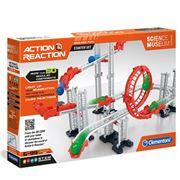 Clementoni - Action Reaction Starter Set 50pce
