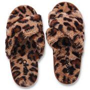 Kip & Co - Cheetah Adult Slippers 37/38