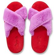 Kip & Co - Raspberry Bubble Adult Slippers 35/36