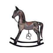 Alianza - Antique Painted Rocking Horse Medium