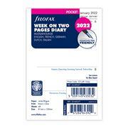 Filofax - Pocket New Classic week View 5 Language 2022