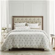 Private Collection - Coburn Stone Quilt Cover Set Queen 3pce