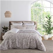 Private Collection - Harlow Linen Quilt Cover Set Queen 3pce
