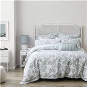 Private Collection - Hayman Mist Quilt Cover Set King 3pce