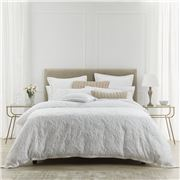 Private Collection - Parisi White Quilt Cover Set King 3pce