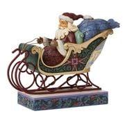 Heartwood Creek - Santa In Sleigh 17cm