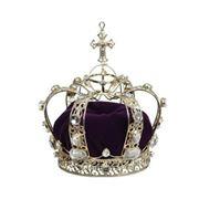 Mark Roberts - Queens Crown Purple 19cm